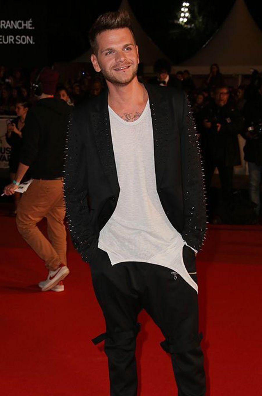 Keen'V à Cannes le 13 décembre 2014