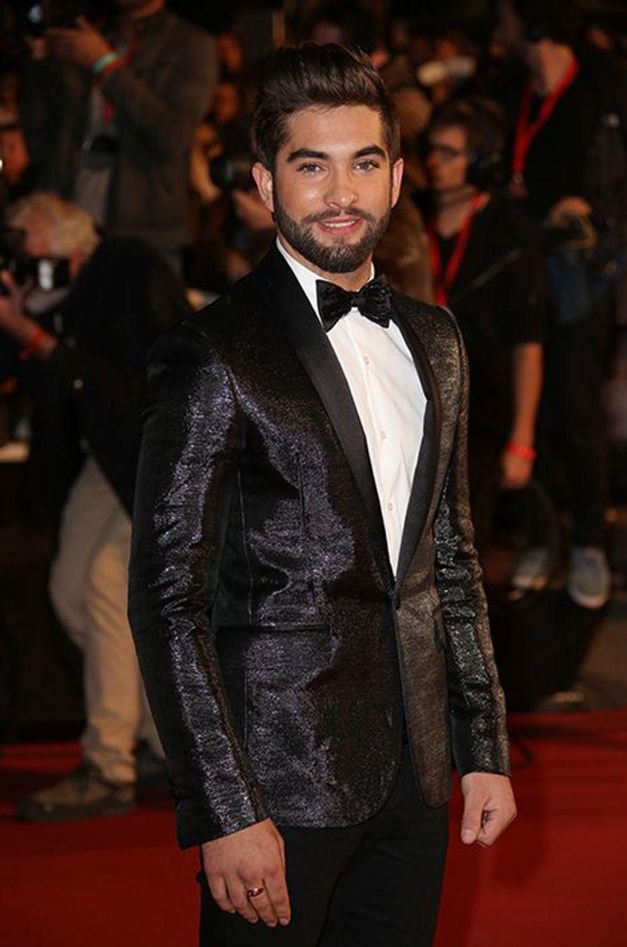 Kendji Girac à Cannes le 13 décembre 2014