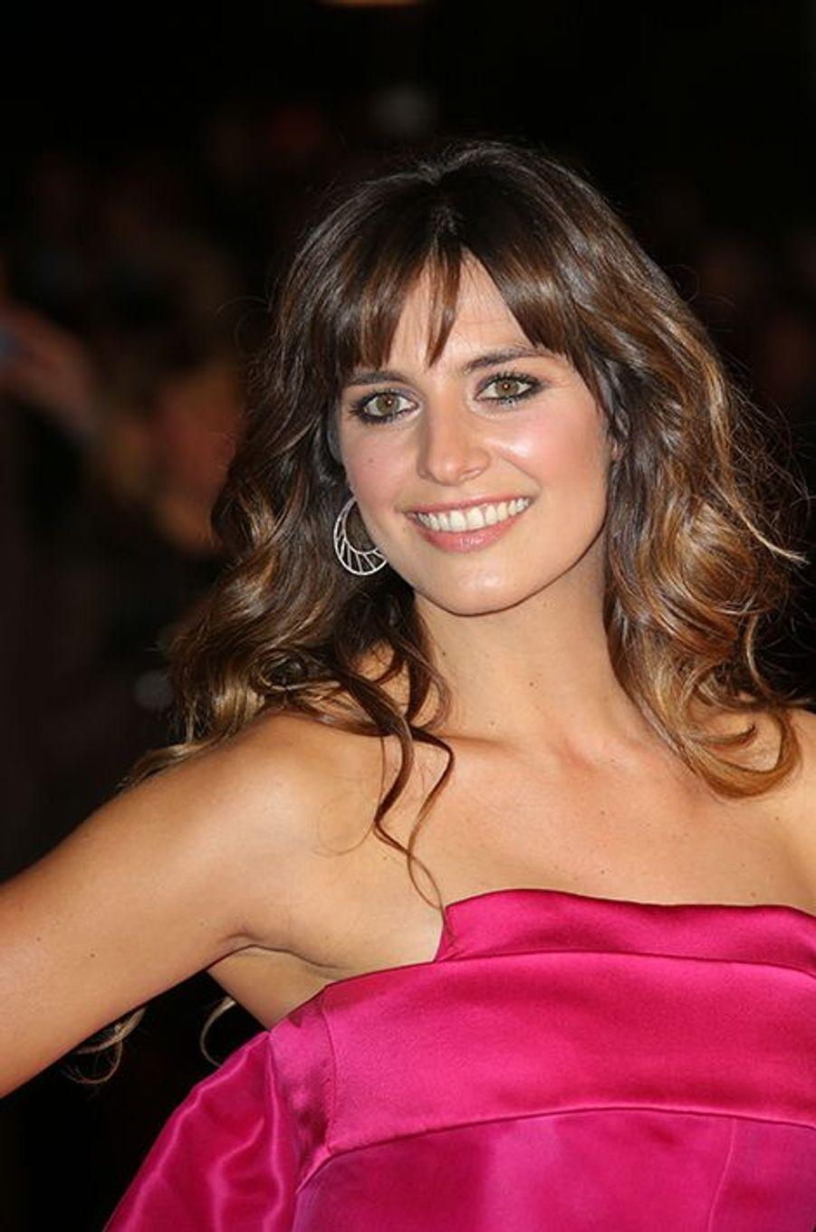 Laetitia Milot à Cannes le 13 décembre 2014