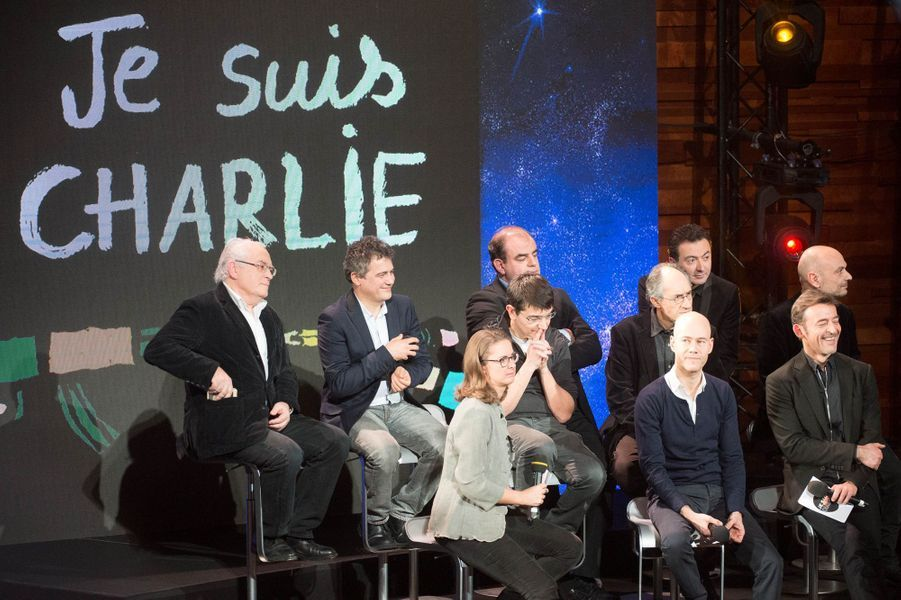 L'équipe de Charlie Hebdo