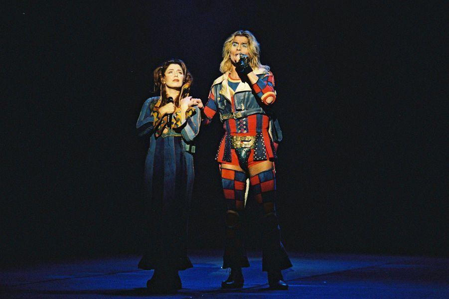 Isabelle Boulay et Franck Sherbourne en 1997