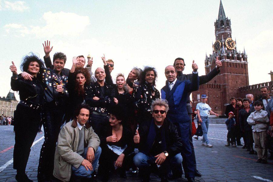 La nouvelle troupe, en 1988, à Moscou