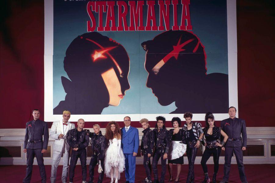 La nouvelle troupe, en 1988