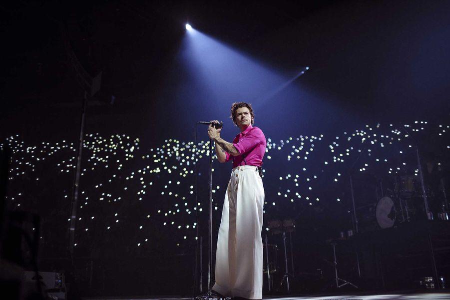 Harry Styles en concert à Los Angeles vendredi