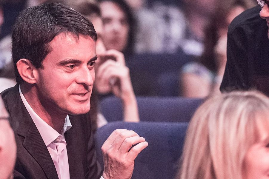 Manuel Valls au Titty Twister de Paris le 1er octobre 2014
