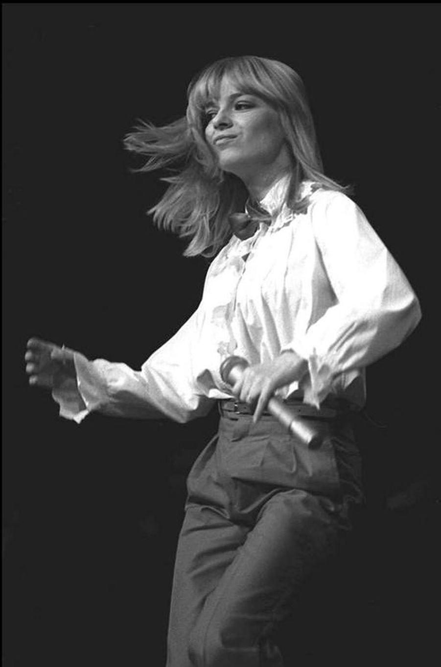 France Gall sur scène en 1978.