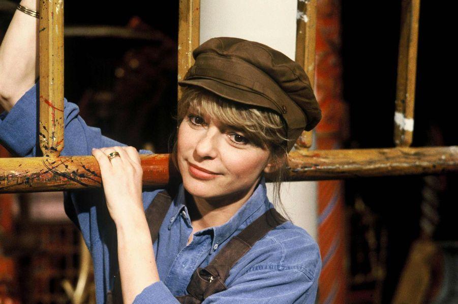 France Gall dans l'émission «Salut les Mickey» sur TF1 en 1984.