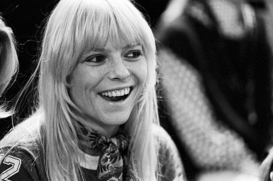 France Gall dans cette même émission de télé en 1974.