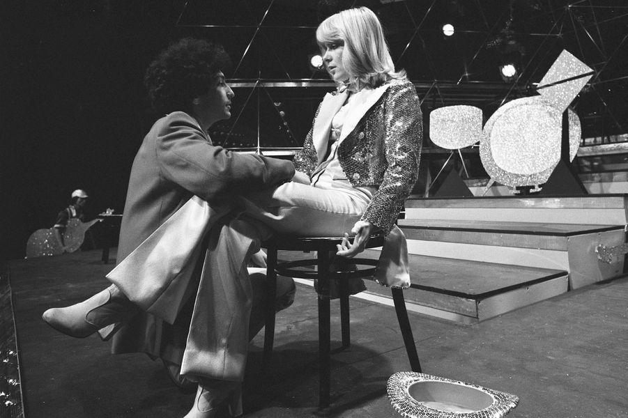 France Gall et Michel Berger à la télévision en mai 1976