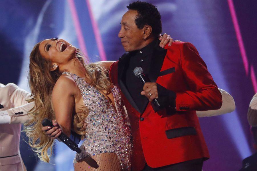 Jennifer Lopez et Smokey Robinson