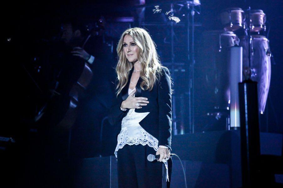 Hier soir à Anvers… Céline Dion