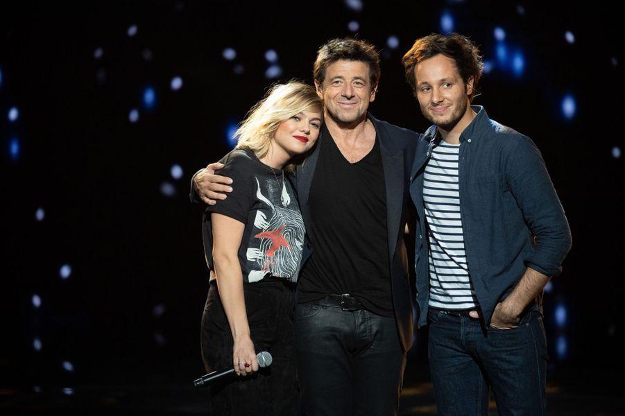 Patrick Bruel, Louane et Vianneyaux NRJ Music Awards.