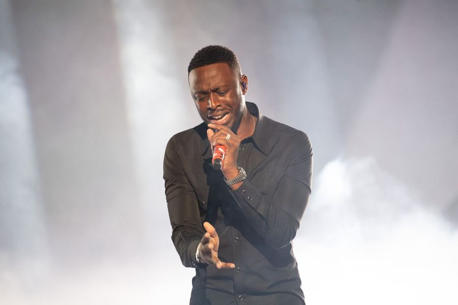 Dadju aux NRJ Music Awards.