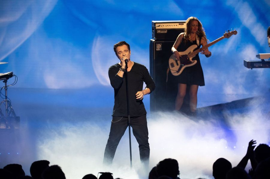 David Hallyday aux NRJ Music Awards.