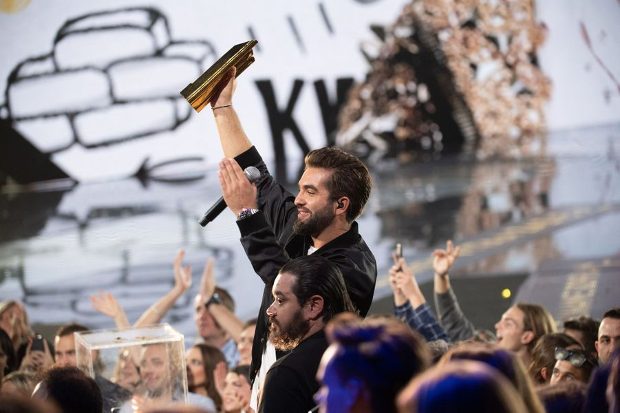 Kendji Girac aux NRJ Music Awards.