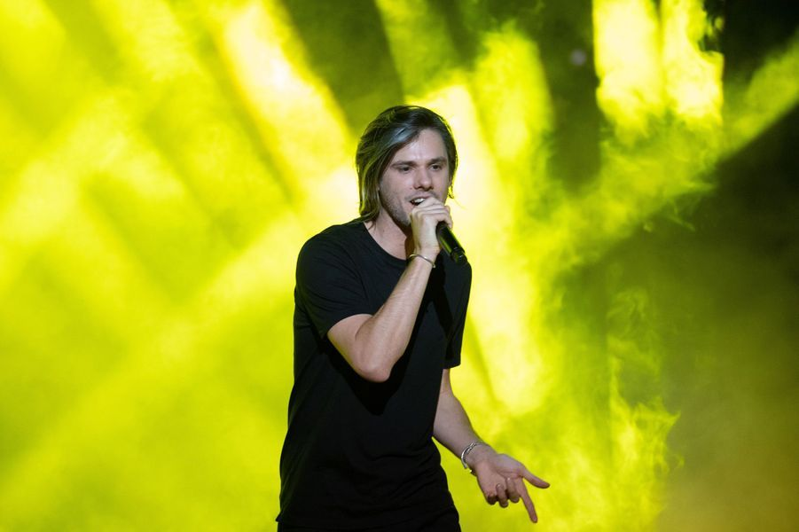 Orelsan aux NRJ Music Awards.