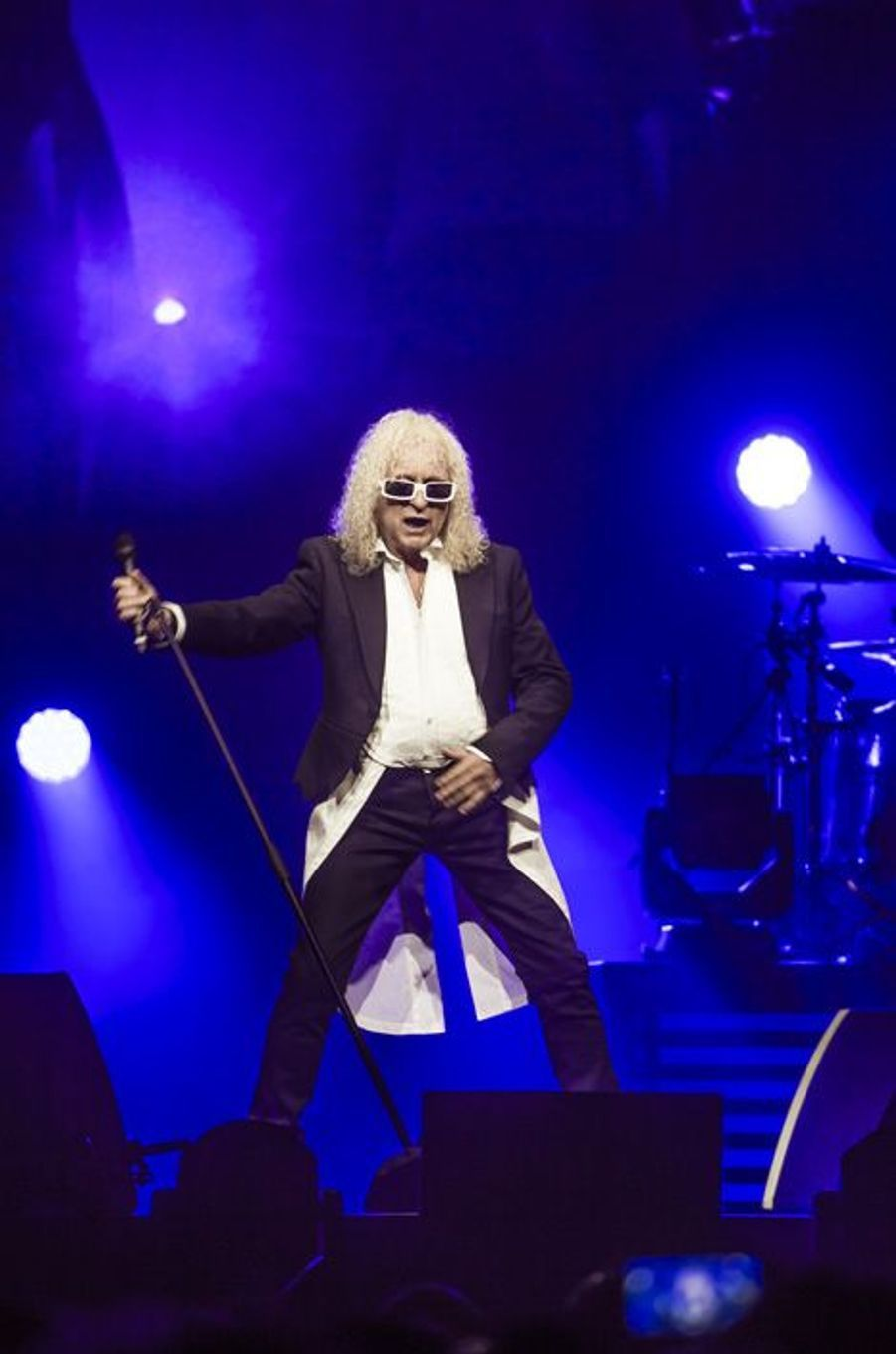 Concert de Michel Polnareff au Millenium, à Epernay, le 30 avril 2016.