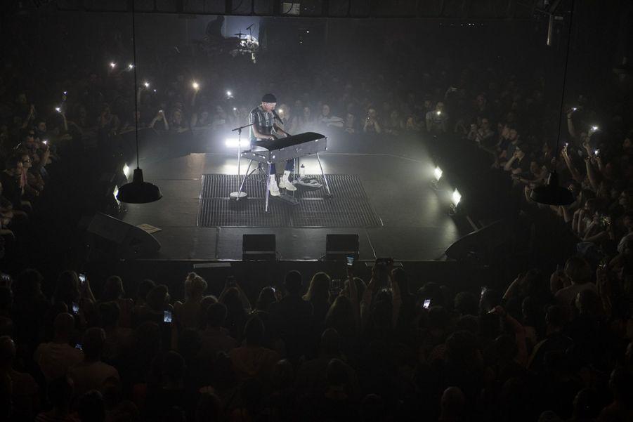 Eddy de Pretto en concert à l'Elysée Montmartre le 18 mai 2019