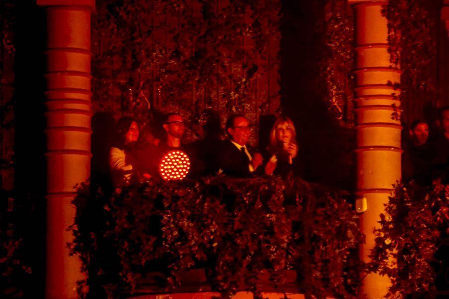François Hollande et Julie Gayet lors du concert hommageAlain Bashung mercredi