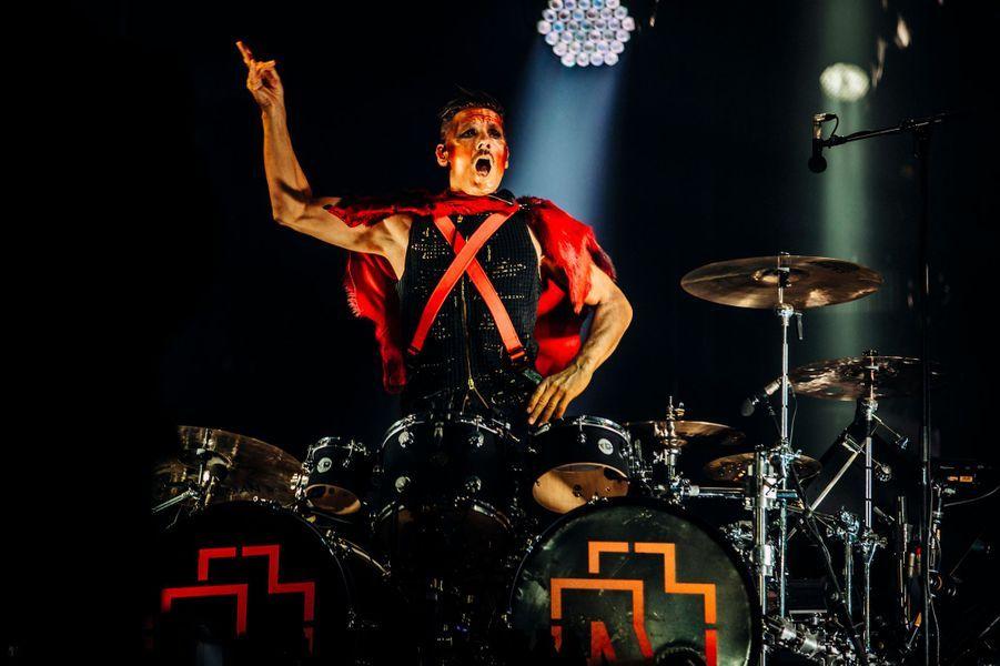 Rammstein à Paris le 29 juin 2019.