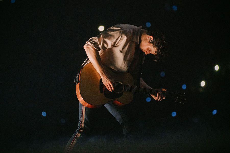 Le concert deShawn Mendes àl'AccorHotel Arena de Bercy