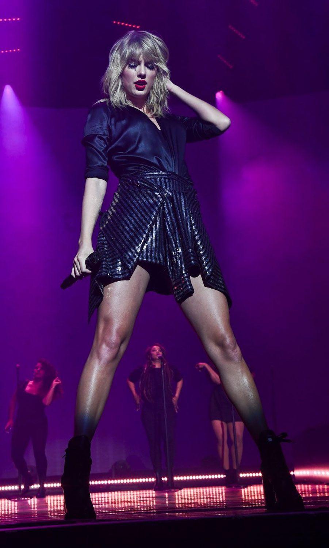 Taylor Swift à l'Olympia lundi soir.
