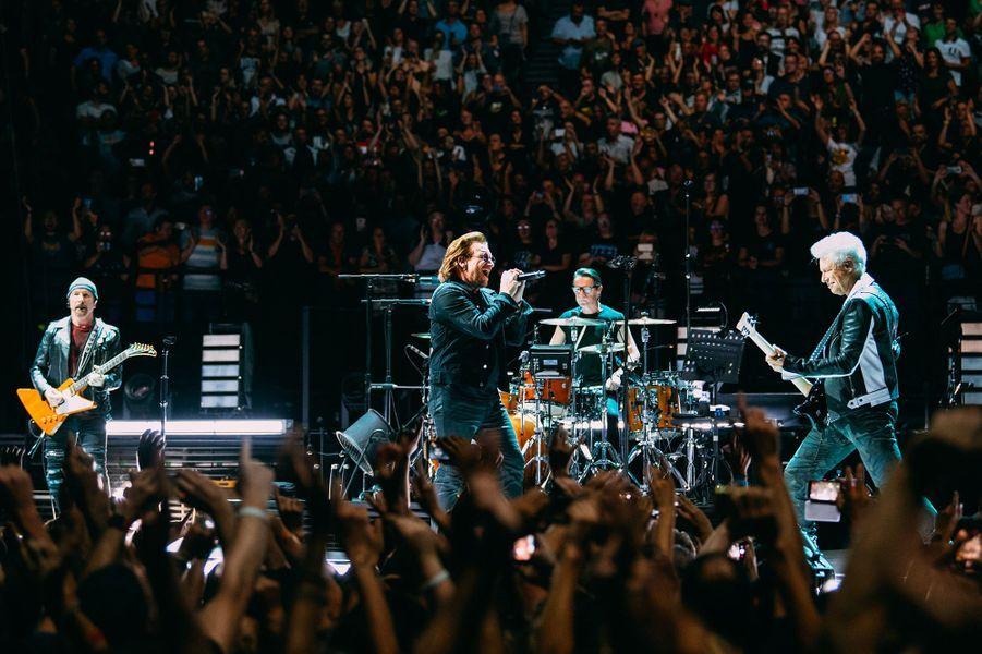 U2 en concert à Paris, samedi 8 septembre