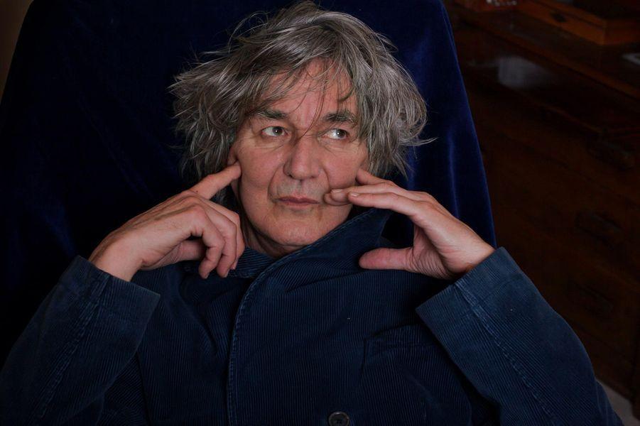 Jacques Higelin chez lui, en novembre 2006.