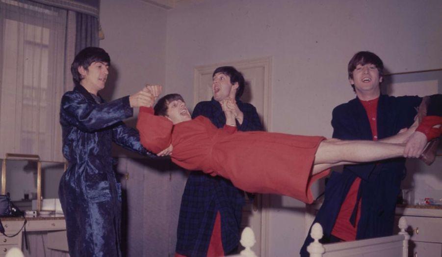 Lors de leur venue dans la capitale en juin 1964, les Beatles avaient montré l'étendue de leurs pouvoirs au photographe de Match.