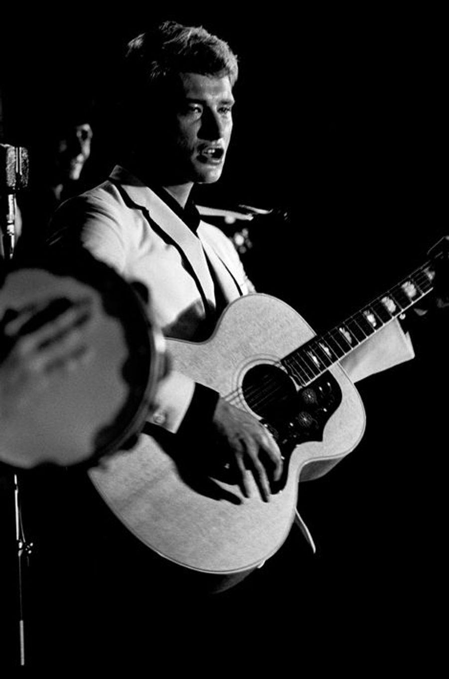 En concert à Colmar, le 6 août 1965