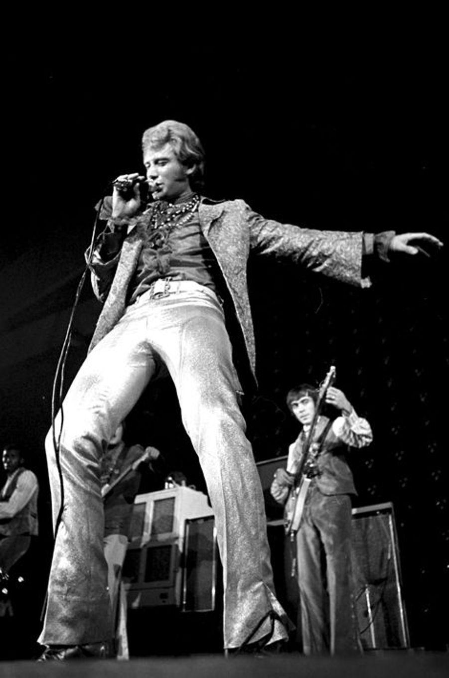 Johnny fait le show à Paris, 14 novembre 1967