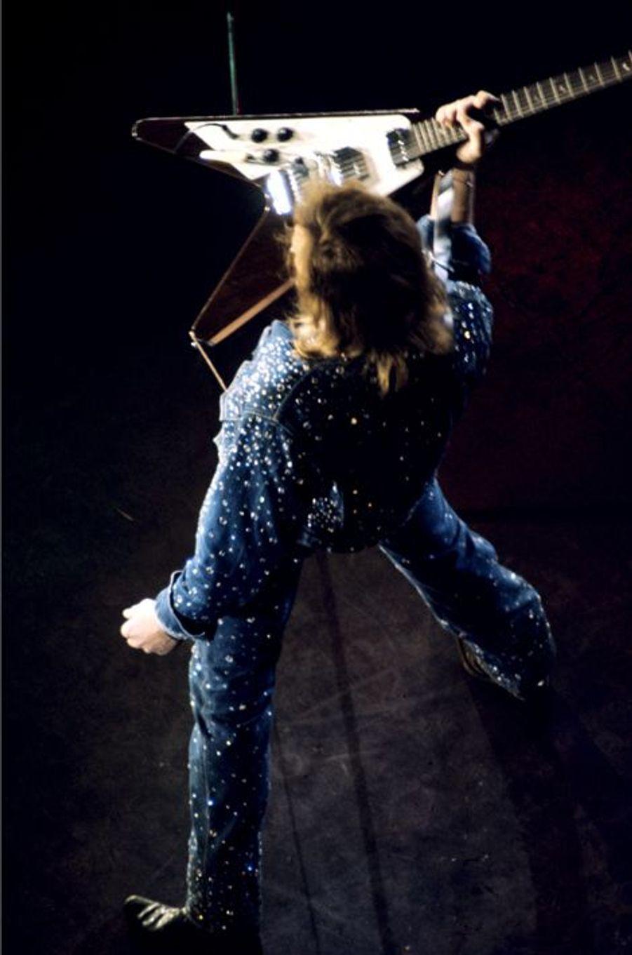 Johnny Hallyday au Palais des Sports de Paris, septembre 1971