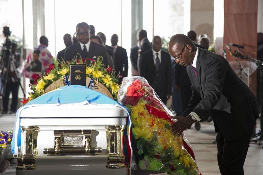Le ministre congolais des Zones économiques spéciales, Alain Akouala Atipault