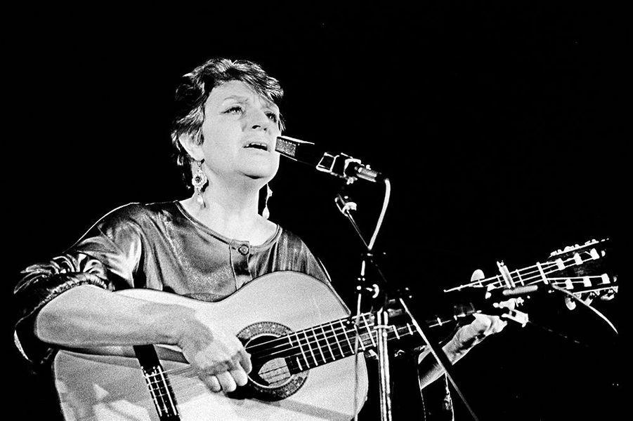 Anne Sylvestre en 1987.