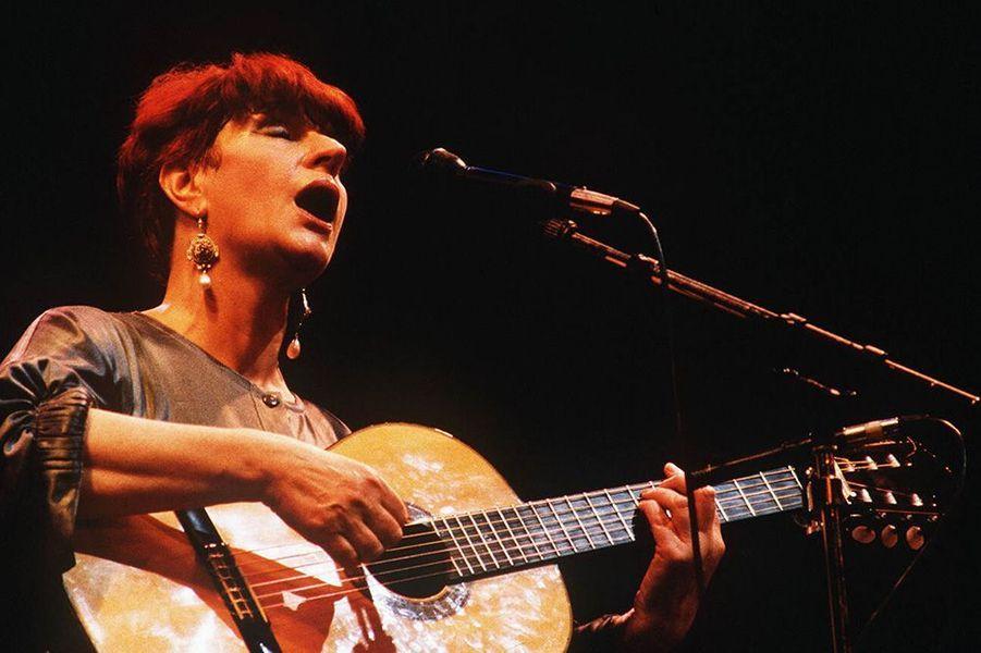 Anne Sylvestre en 1986