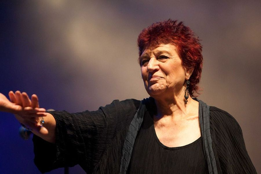Anne Sylvestre en 2010.