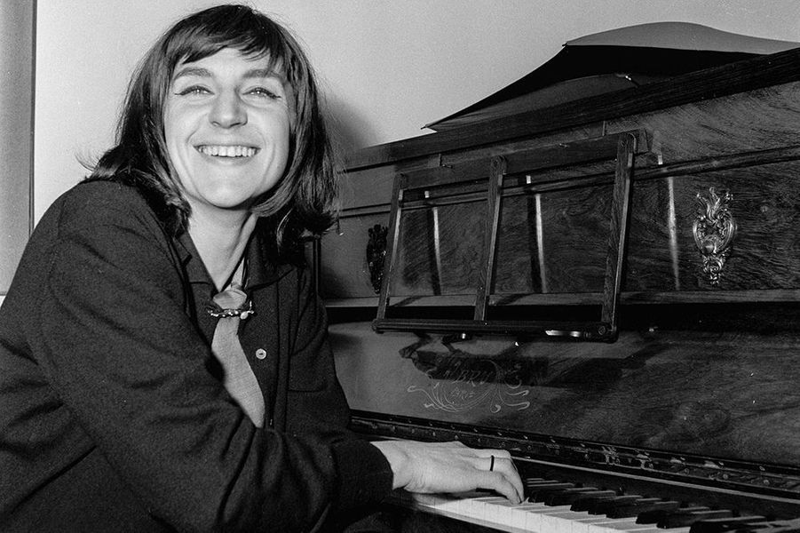 Anne Sylvestre en 1962