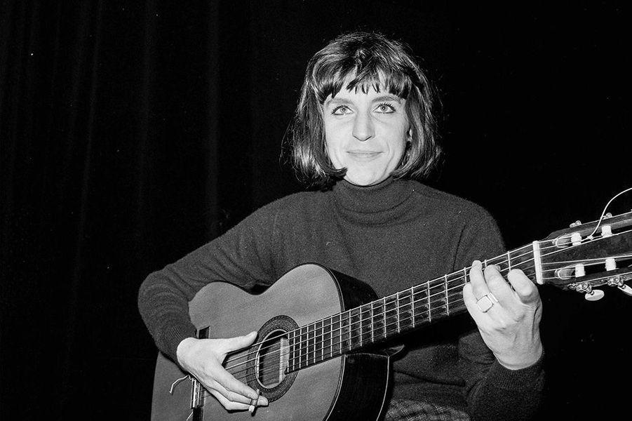 Anne Sylvestre en 1963.