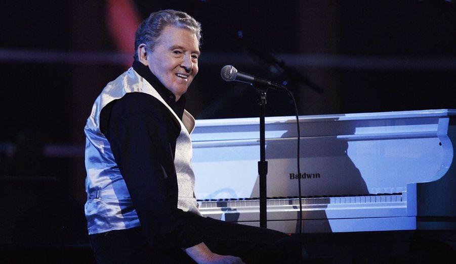 Le légendaire pianiste de rock'n'roll Jerry Lee Lewis