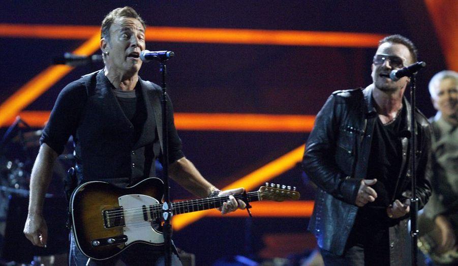 Bruce Springsteen en duo avec Bono.