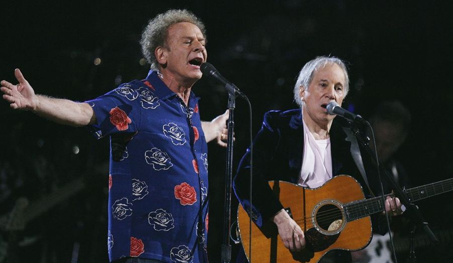Paul Simon et Art Garfunkel