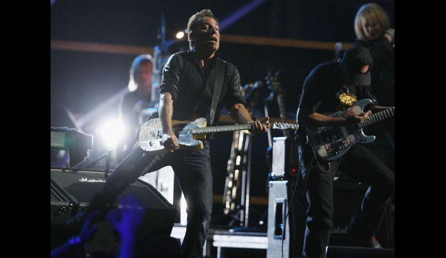 "Bruce ""The Boss"" Springsteen."