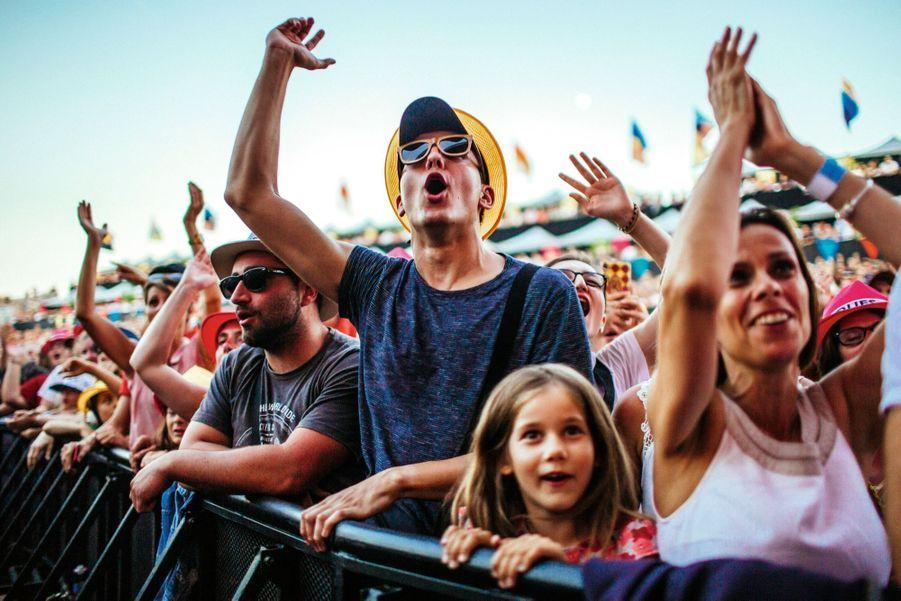 Le public enthousiaste du festival