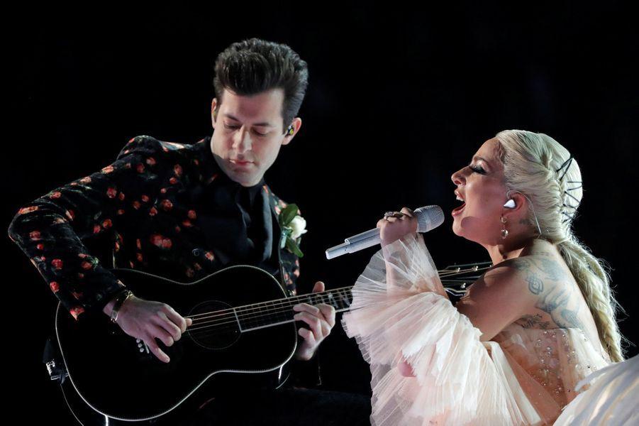 Lady Gagaà la cérémonie des Grammy Awards.