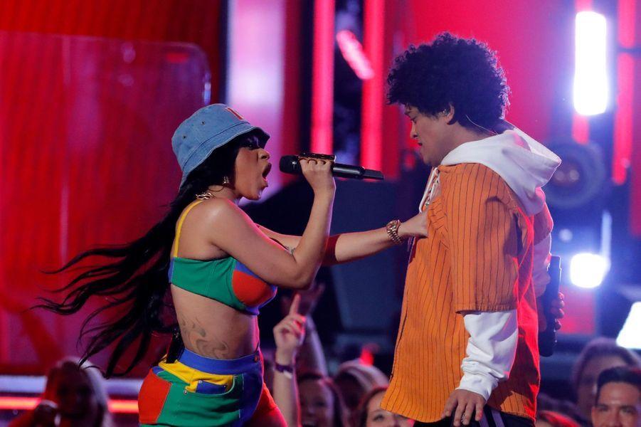 Cardi B et Bruno Mars