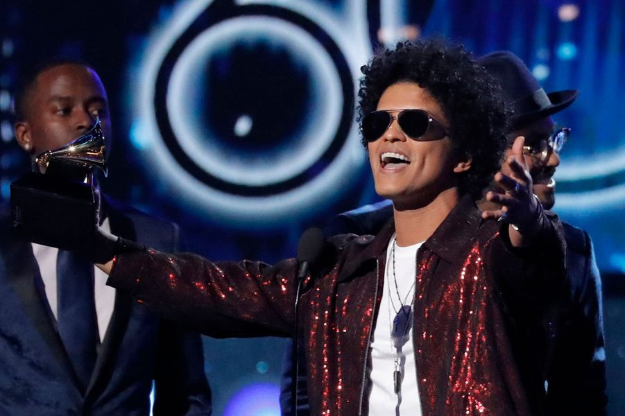 Bruno Marsà la cérémonie des Grammy Awards.