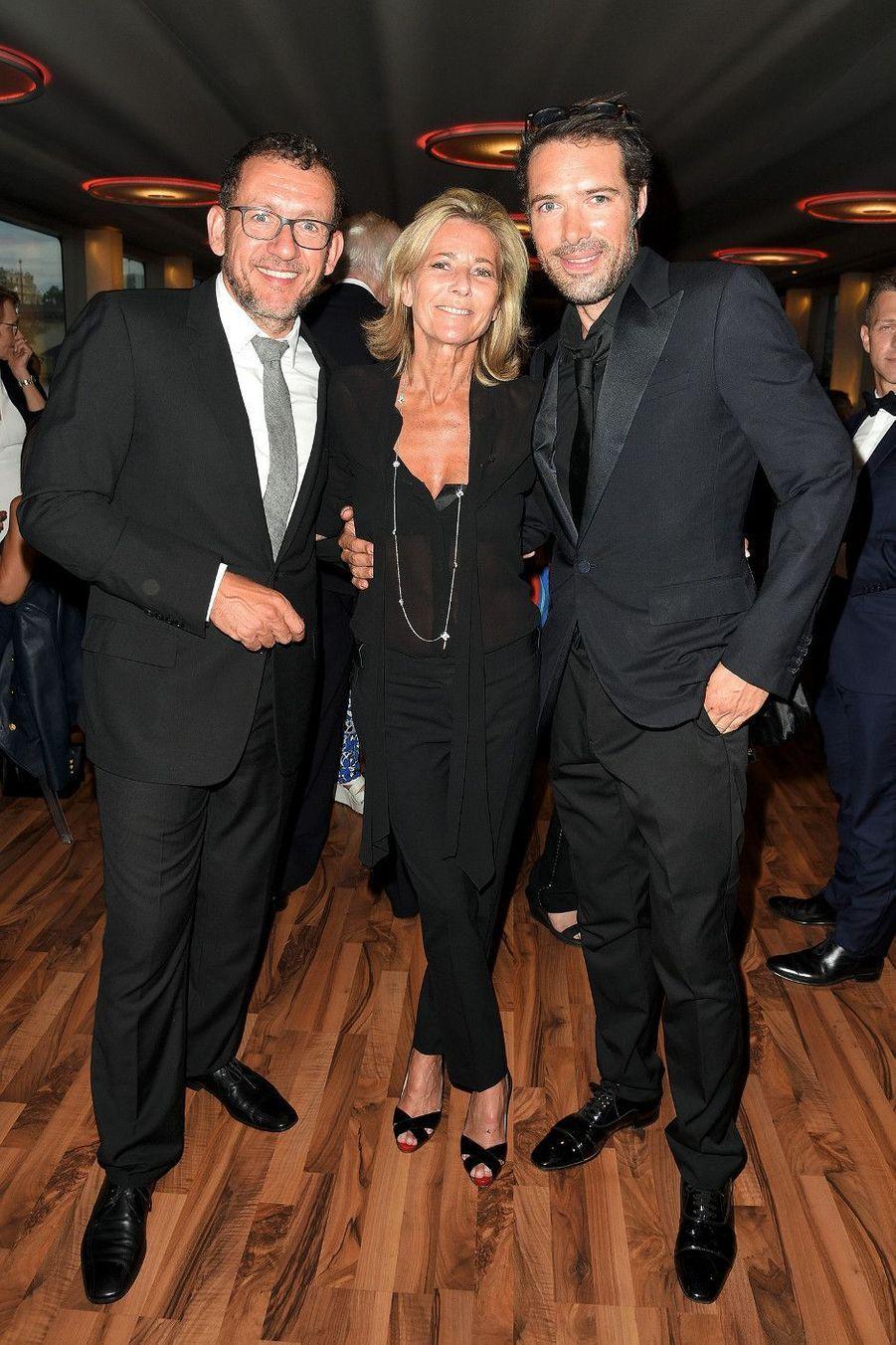 Dany Boon, Claire Chazal, Nicolas Bedos.