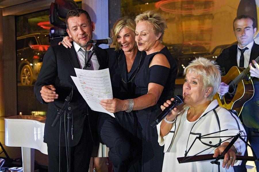 Dany Boon, Michèle Laroque, Muriel Robin, Mimie Mathy.