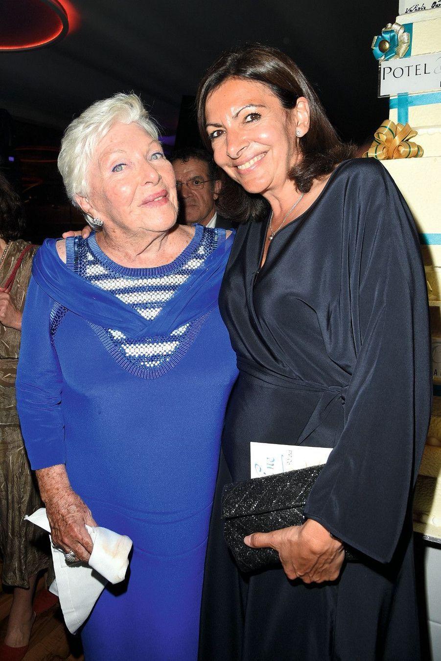 Avec Anne Hidalgo.