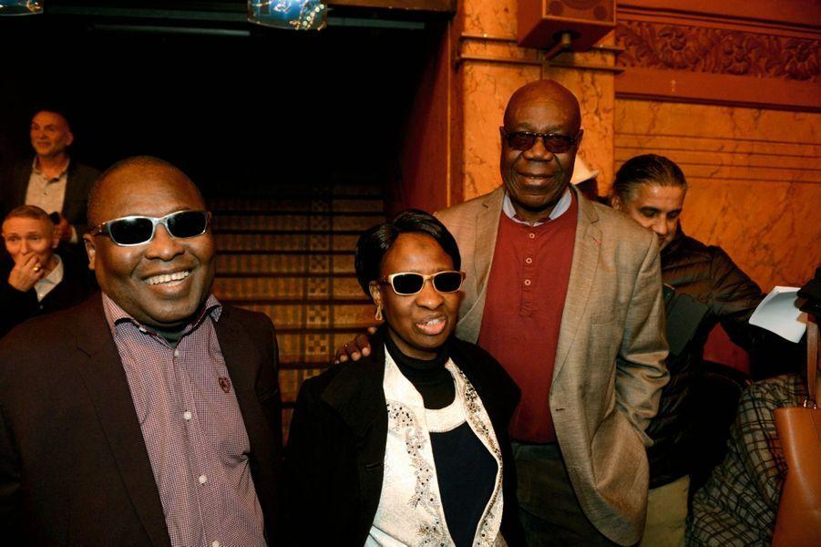 Le célèbre duo malien Amadou et Mariam, venu de Bamako pour la soirée.Retrouvez Manu Dibango, le 17 octobre prochain, au Grand Rex, pour son « Safari symphonique ».